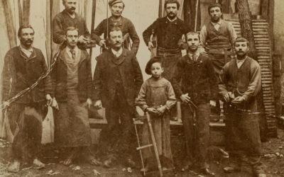 L'équipe Barro à ses débuts