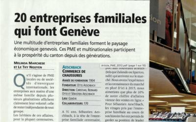 20 Entreprises familiales qui font Genève