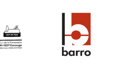 Evolution du Logo Barro